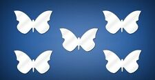 WALL MIRROR STICKERS DECALS for Children's Room Decoration Set of 10 Butterflies