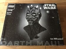 Star Wars Lego Set 10018 Darth Maul Bags and boxes Sealed - Rare Never Made UCS