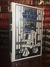 Star Wars Trilogy R2D2 Cover with Poster New Sealed Leather Bound Collectible