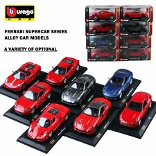 1PC BBURAGO 1:32 FERRARI DIECAST MODEL ALLOY PULL BACK CAR LICENSED TOY FOR KIDS