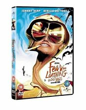 Fear and Loathing in Las Vegas DVD Johnny Depp New Sealed Original UK Release R2