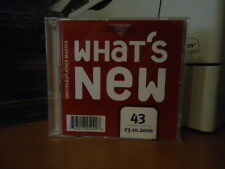 What's New Vol. 43 23.10.2000 BMG Promo - Onkel Tom - Stefanos - First Touch -CD