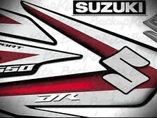 Suzuki DR 650 Factory Graphics Kit / Decal Kit / Sticker / Calcomania