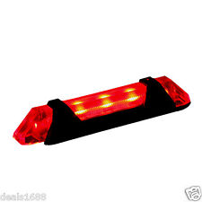 Cycling Bicycle Bike Night Super Bright LED Rear Tail Light Lamp USB Charge Red