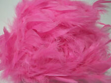 """Hot Pink Chandelle Feather Boa 72"""" 6 ft Masquerade Bachelorette Party Costume 40"""