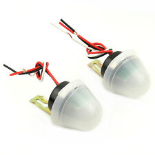 2 PCS Electric Auto On Off Switch Control Street Light Photocell Photos