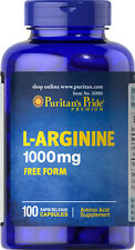 L-Arginine 1000mg 100 capsules | Puritan's Pride Vitamins Supplements