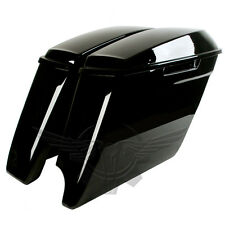 2-into-1 Extended Stretched Saddlebags for Harley Davidson 2014-2016 Bags