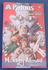 Patons-Monkey Around PA-00889 DD Hats Socks Toys Scarf Knit Crochet Patterns