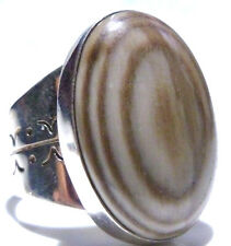 LARGE DTR JAY KING STERLING SILVER WOMENS ESTATE RING SIZE 9.25