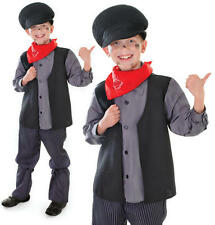 Childrens Kids Chimney Sweep Fancy Dress Costume Bert Mary Poppins Outfit L