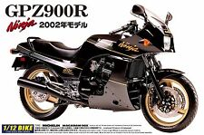 1/12 AOSHIMA 004287 KAWASAKI GPZ900R - NINJA 02 Plastic Model Motor Cycle Kit