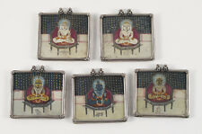 Young Krishna Pendants/ Antique Indian Miniatures
