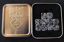 Games Workshop Warhammer 25th Anniversary Dice Tin Set Fantasy Age of SigmarOOP