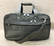 "Briggs & Riley 20"" Expandable Carry On Briefcase Duffe Bag Lugagge Olive Green"