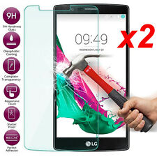 2Pcs 9H Real Tempered Glass Film Screen Protector For LG G4 BEAT G4S H735 H736