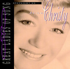 Great Ladies of Song Spotlight on June Christy Audio CD New