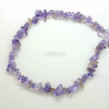 "16"" Natural Amethyst Citrine Ametrine Nugget Chip Beads ap. 5mm - 10mm+ #15200"