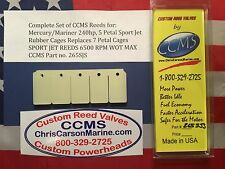 CCMS Mercury/Mariner 240hp Sport Jet Outboard Reed 5 Petal Rubber Cage PN.265SJS