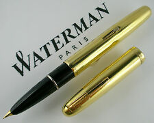 WATERMAN Gold Ciselé - 1930 Stupenda Introvabile Fountainpen,  Very Old pen!!