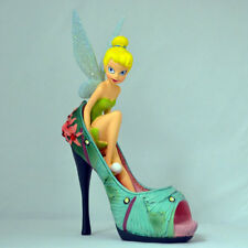 DISNEY TINKER BELL Light as a Luna Moth Shoe Collectible Figurine NEW