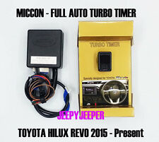 MICCON FULL AUTO Turbo Timer Control TOYOTA ALL NEW HILUX REVO M70 M80 2015 2016