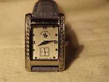 Women's Santa Barbara Polo & Racquet Club( Swiss movement six jewels) watch