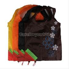 Foldable Reusable Waterproof Eco Storage Travel Shopping Tote Grocery Bags Hot