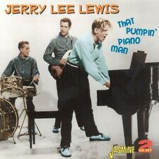 JERRY LEE LEWIS - THAT PUMPIN' PIANO MAN 2 CD NEU