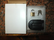 Samsonite Luggage Suitcase Bag Tag ID Name holder with mini lock set