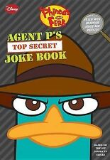 Phineas and Ferb: Agent P's Top-Secret Joke Book (A Book of Jokes and-ExLibrary