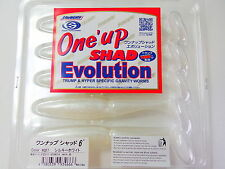 "SAWAMURA - One' up SHAD Evolution 6"" #027 SILKY WHITE"