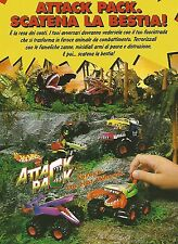 X0354 Attack Pack - Hot Wheels - Mattel - Pubblicità del 1993 - Vintage advert
