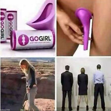 Female Urination Device Go Girl Lavender Travel Woman Urinal Case For Emergency