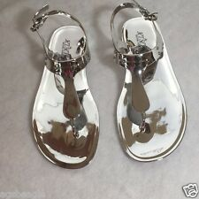 Michael Kors MK Sandals 40S5PLFA1Q MK Plate Jelly Thong  Size 7 #COD Paypal agsb