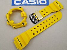 Casio G-Shock Frogman 30th Anniversary GF-8230E-9 watch band & bezel set yellow
