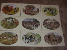Appleby Horse Fair Horses Romany Gypsy Caravan Living wagons Fine Art Postcards