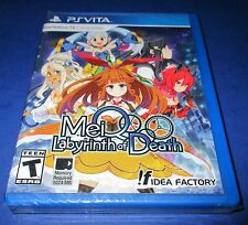 MeiQ: Labyrinth of Death Sony PlayStation Vita *Factory Sealed! *Free Shipping!