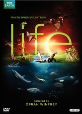 BBC Earth Life 4 DVD Gift Set Narrated by Oprah Winfrey
