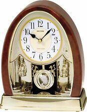 RHYTHM Global Timepiece Joyful Crystal Bells Clock - 4RJ636WD23