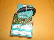WAVERLY GREEN MULTI COLOR 10' RETRACTABLE DOG LEASH WITH LED LIGHT