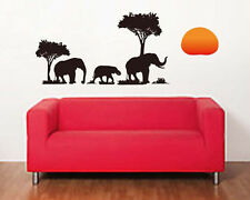 Removeable Decor Elephant Wall Stickers Decal Decoration Art Home AY8158
