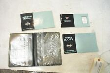 1996 NISSAN 240SX OWNERS MANUAL OEM 1995 1997 1998