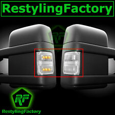 F250+F350+F450+F550 Super Duty 2008-2015 Side Mirror Light LED CLEAR FORD New