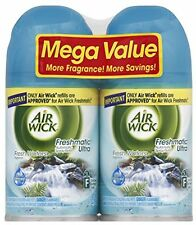 Air Wick Freshmatic Automatic Spray Air Freshener, Fresh Waters, 2 Refills,