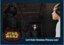 1999 Topps Star Wars Chrome Archives #14 Lord Vader Threatens Princess Leia!