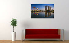 """SINGAPORE SUNSET ART PRINT POSTER PICTURE WALL 33.1"""" x 20.7"""""""