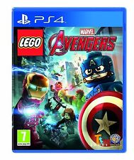 LEGO MARVEL AVENGERS - Playstation 4 PS4 - NEW & SEALED - UK RELEASE