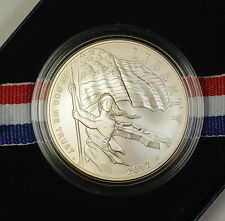 2012 P Star Spangled Banner Fort Uncirculated Dollar Silver $1 Coin OGP COA