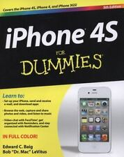 iPhone 4S For Dummies by LeVitus, Bob, Baig, Edward C., Good Book